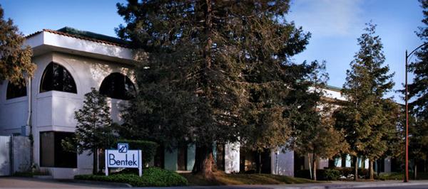 Bentek front of building