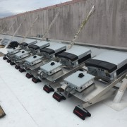 Bentek PowerRack w/Integrated 3-Phase String Inverters Installed by Vista Solar in Capitola, CA