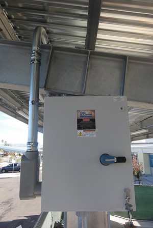 Bentek installation Santa Clara Unified School District