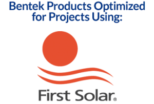 Optimized for First Solar